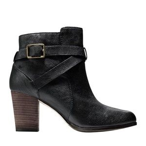 Cole Haan Cassidy Leather Buckle Bootie